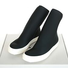 RICK OWENS DrkShdw black scuba sock sneakers SS16 shoes neoprene boots 44/11 NEW