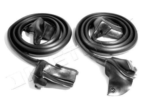 1968-1969 Chevrolet Camaro /& Pontiac Firebird new rubber door weatherstrip seals