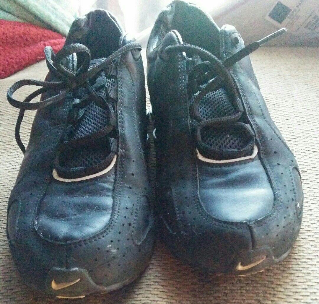 Nike shox schwarz turnschuhe männer größe 9,5 schwarz shox 309910 001 9c8ce7