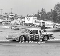 ORIGINAL 1981 BOBBY ALLISON NASCAR WINSTON CUP 11 X 14 PHOTO RIVERSIDE RACEWAY