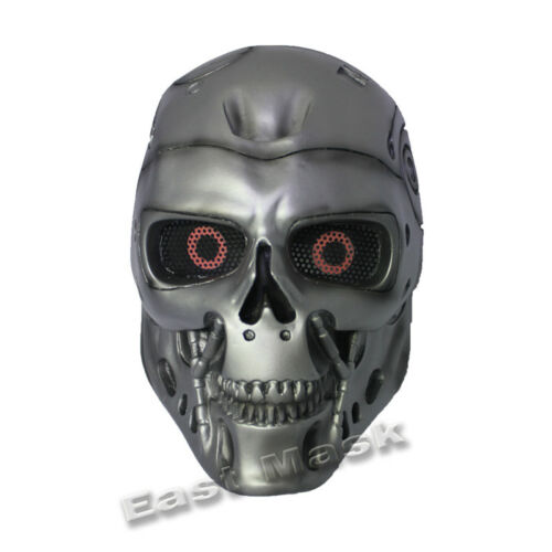 The Terminator T800 Skull Mask Evil Warrior Ghost FRP Halloween Collection Mask