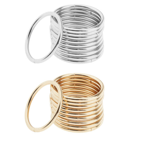 10x Metal Round Rings Hoop 35mm For Jewelry Making //Dream Catcher DIY Accessory