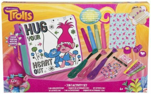 Nouveau Dreamworks Trolls 3 en 1 Activity Sets