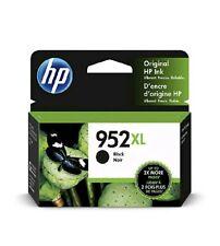 Genuine HP 952xl Black Ink Cartridge High Yield F6u19an OEM Exp. 2020