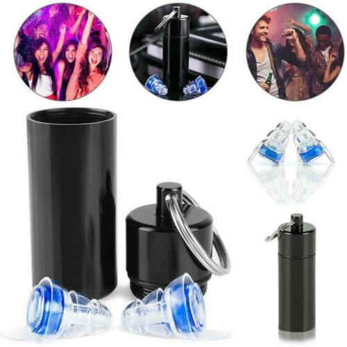 Noise Reduce Cancelling Ear Plugs Hearing Protection For Music Concert Sleeping.