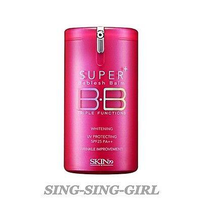 SKIN79 HOT PINK SUPER PLUS Beblesh Balm BB CREAM 40g Pump Type + FREE GIFT