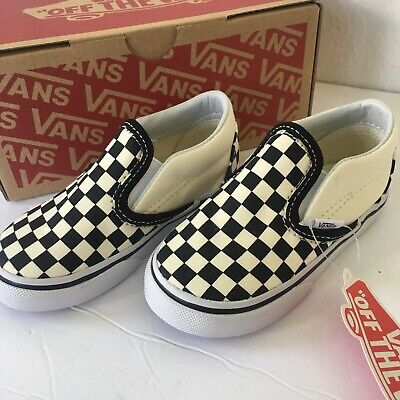 New Vans Kids Baby Size 6.5 Shoes