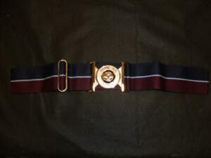 RAF Royal Air Force Officers Ceremonial Belt With Buckle Used Medium Size