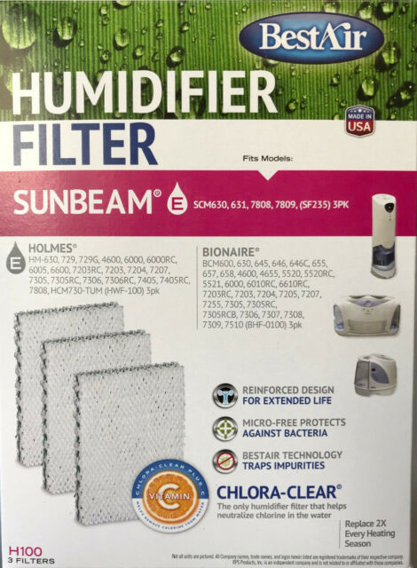 BestAir Replacement Humidifier Filter in the Humidifier