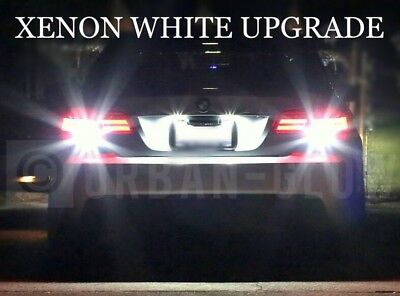 XENON WHITE BMW X5 E53 3.0d LED LICENCE NUMBER PLATE UPGRADE LIGHT BULBS XE4
