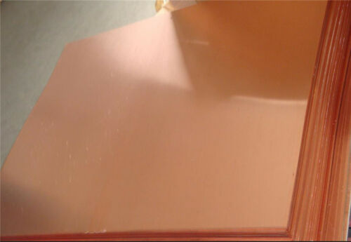 Copper Full Sheets 2000mm x 1000mm - All thickness 0.5, 0.7, 0.9, 1.2, 1.5, 2, 3