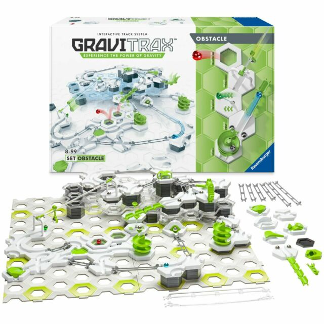 Ravensburger Gravitrax Obstacle Course Set Over 150 elements Marble Racing Game