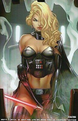 Notti /& Nyce May the 4th 2019 Debalfo Cover B Star Wars Darth Vader Pre-Sale!!!