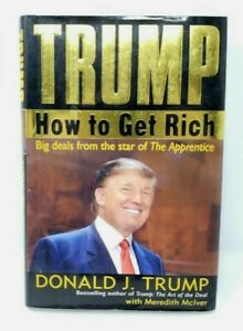Trump-How-to-Get-Rich-by-Meredith-McIver-and-Donald-J-Trump-2004-Hardcover