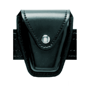 Safariland 190-13PBL Black STX Tactical Black Snap Top Flap Chain Handcuff Pouch