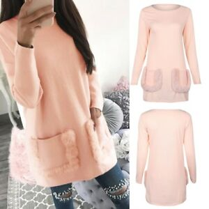 Womens Spring Autumn Casual Shirt Blouse Sleeve Ladies Tops Comfort S/M/L/XL