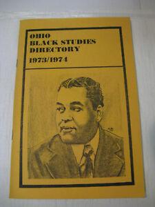 Ohio-Black-Studies-Directory-1973-1974-Booker-T-Tall-Arthur-A-Schomberg-Sketch