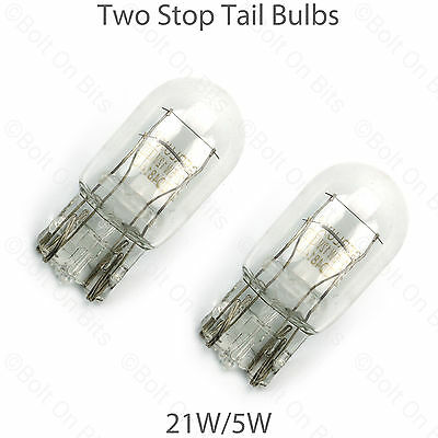 1 Stop//Tail Bulb Honda CR-V CRV 4x4 21//5w Capless Brake//Tailight//Wedge
