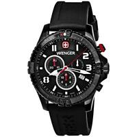 Wenger Squadron Chronograph Gents Watch 77053 - Rrp £350 - Brand