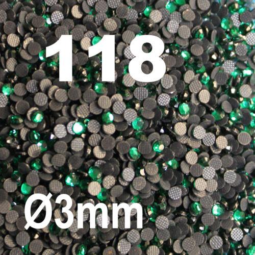 500 Strass thermocollant RHINESTONE hotfix Ø 3 mm ss10 VIOLET N° 117