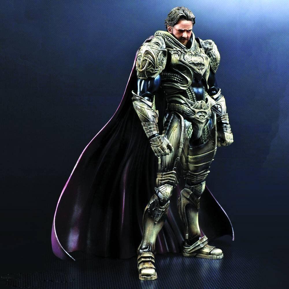 están haciendo actividades de descuento Square Enix Enix Enix Jugar Arts Kai Jor EL Man of Steel Acción Figura  orden en línea