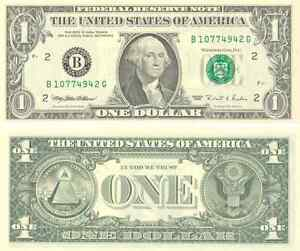 1-billet-americain-USA-de-1-DOLLAR-one-US-DOLLAR