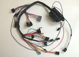1963 63 impala under dash wiring harness with fusebox automatic rh ebay com Automotive Fuse Box wiring harness fuse box 1966 polara
