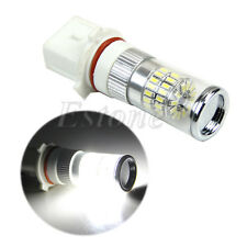 White P13W H18 48-SMD 3014 LED Car Fog Signal Light Bulb Lamp 12-24V Non-polar