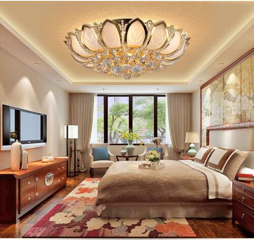 K9 Crystal Chandelier Ceiling Lights Lamp Bedroom Flush Moun