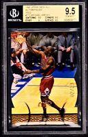 """1998 UD MJX """"TIMEPIECES GOLD /23"""" #110 MICHAEL JORDAN *BGS 9.5 *GEM POP=2. *2/2."""