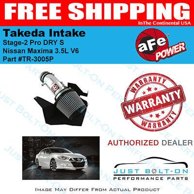 TR-3005P aFe Takeda Stage-2 Pro Dry Intake fits 2009-2017 Maxima 3.5L V6