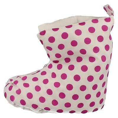 Ausverkauf Mädchen Duvet Enten Stiefelette Style Pantoffeln SA-02 Tupfen Punkte