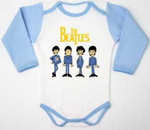 The Beatles Baby Bodysuit John Lennon Paul McCartney Children Clothes Newborn