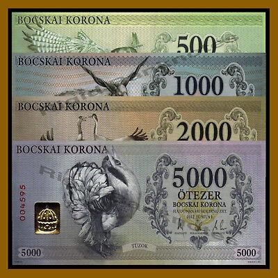 2012 local Money Hungary 500 Bocskai Korona Falcon Unc