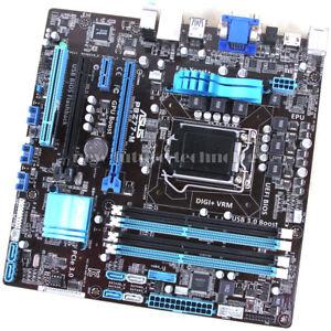 Details about ASUS Motherboard P8Z77-M, LGA 1155/Socket H2, Intel Z77  Chipset, DDR3 Memory