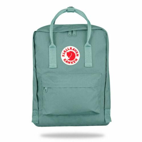 Fjallraven Kanken Backpack Handbag Waterproof School Bag Outdoor Rucksacks 16L