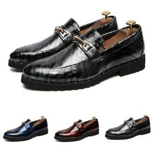 Herrenschuhe Business Abendschuhe Oxford Faux-Lackleder Chinesisch Wolke Party D