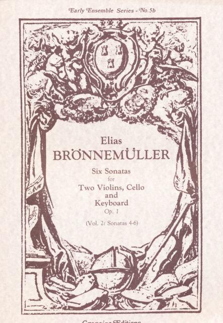 Brönnemüller - Six Sonatas Op. 1 for Ensemble  Vol. 2