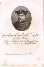 Napoli - Trento - Teologia - GIROLAMO SERIPANDI. Morghen inc. - Nicola gervasi