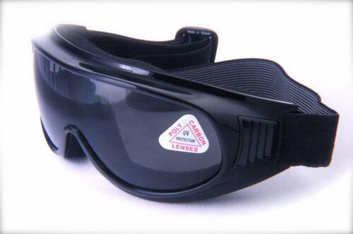 Moto Dirt Bike Lunettes poids léger anti brouillard simple lentille avec éponge mousse
