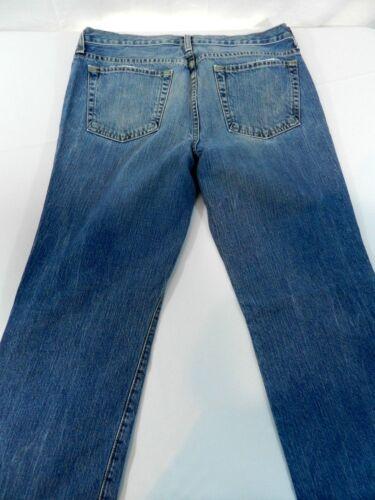 Jeans Blue Taille pierres on de en coton vieilli gar Jeans Lavage 32r Ir6Srqx