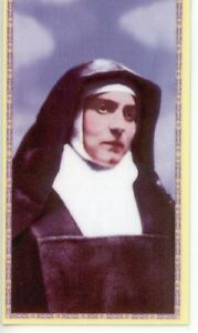 St-Edith-Stein-Relic-Laminated-Holy-Card-Blessed-by-Pope-Francis