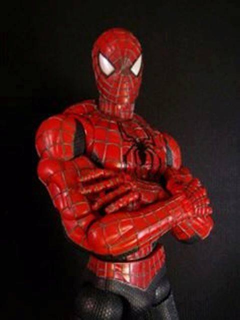 Spider Man  Herren Ragno Marvel Action Figure CM 48 Superarticolato raro toys