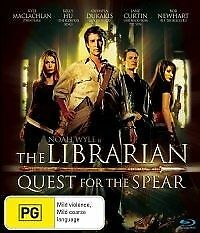 1 of 1 - THE LIBRARIAN-QUEST FOR THE SPEAR DVD=RGION 4 AUSTRALIAN RLEASE=NEW AND SEALED