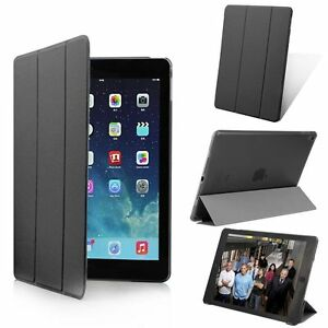 Slim-Magnetic-Leather-Smart-Cover-Hard-Back-Case-For-Apple-iPad-2-3-4-Air-2-Mini