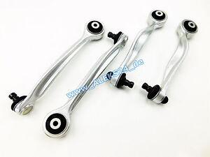 4x-Transverse-Control-Arm-Set-Upper-Mehrlenkerachse-Aluminium-for-Audi-A4-B5-C5