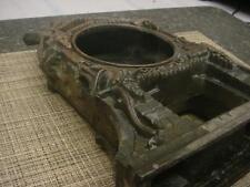 "Old Model 240 Reg US Pat D-92-2-16 Cast Metal 13"" tall detailed Clock Case F259"