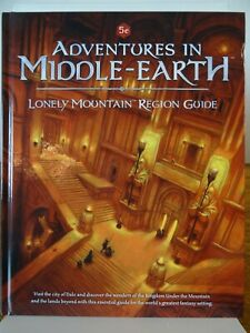 Adventures in Middle Earth - Lonely Mountain Region Guide 5e (Cubicle) 502002012