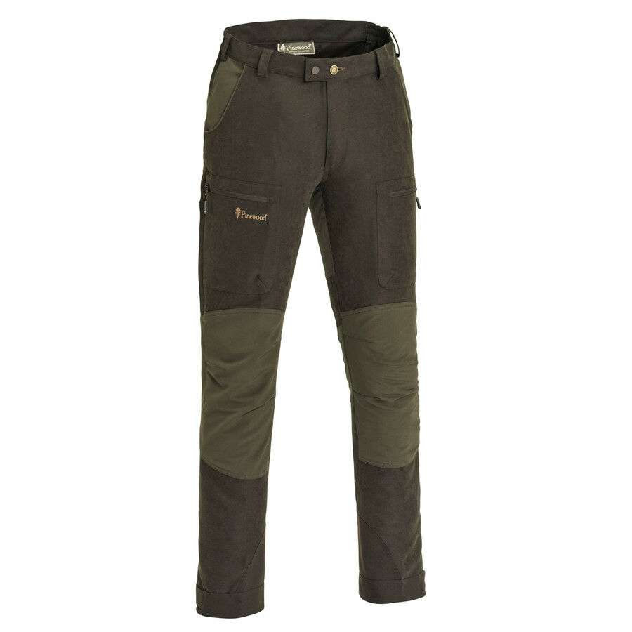 Pinewood Caribou Trousers braun-Olive Hunting Outdoor Leisure Hunting Trousers Forest Woodland