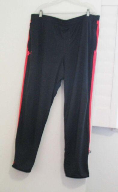 013ca78236 Under Armour Mens Maverick Tapered Leg Pants Black/Pink 1280765 Sz XL - NWT